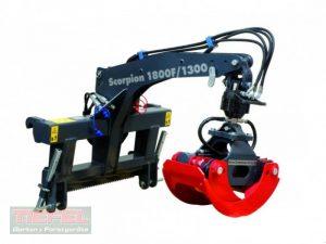 Uniforest Scorpion F-R 1300 Zange, Rotator, Front und Heckanbau Ladekrane & Rückezange